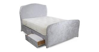Arielle Double (4 ft 6) 2 Drawer Bed