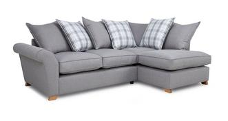 Arran Left Hand Facing Pillow Back Corner Sofa