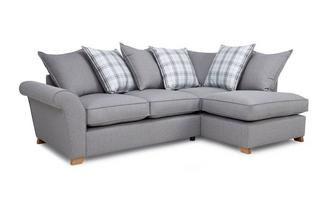 Left Hand Facing Pillow Back Corner Sofa Arran