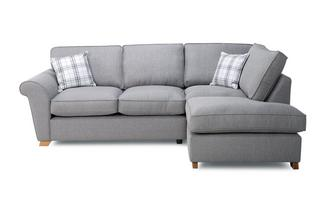 Left Hand Facing Formal Back Corner Sofa Bed Arran