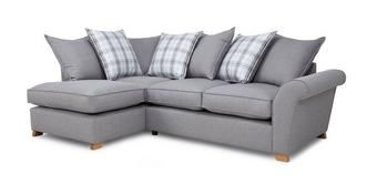 Arran Right Hand Facing Pillow Back Corner Sofa Bed
