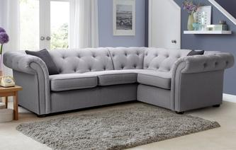 Ashby Left Hand Facing 2 Seater Corner Sofa Opera