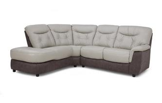 Option E Right Hand Facing Arm 2 Piece Corner Sofa Bacio Vellutato
