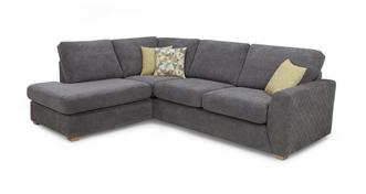 Astaire Right Hand Facing Arm Open End Corner Sofa