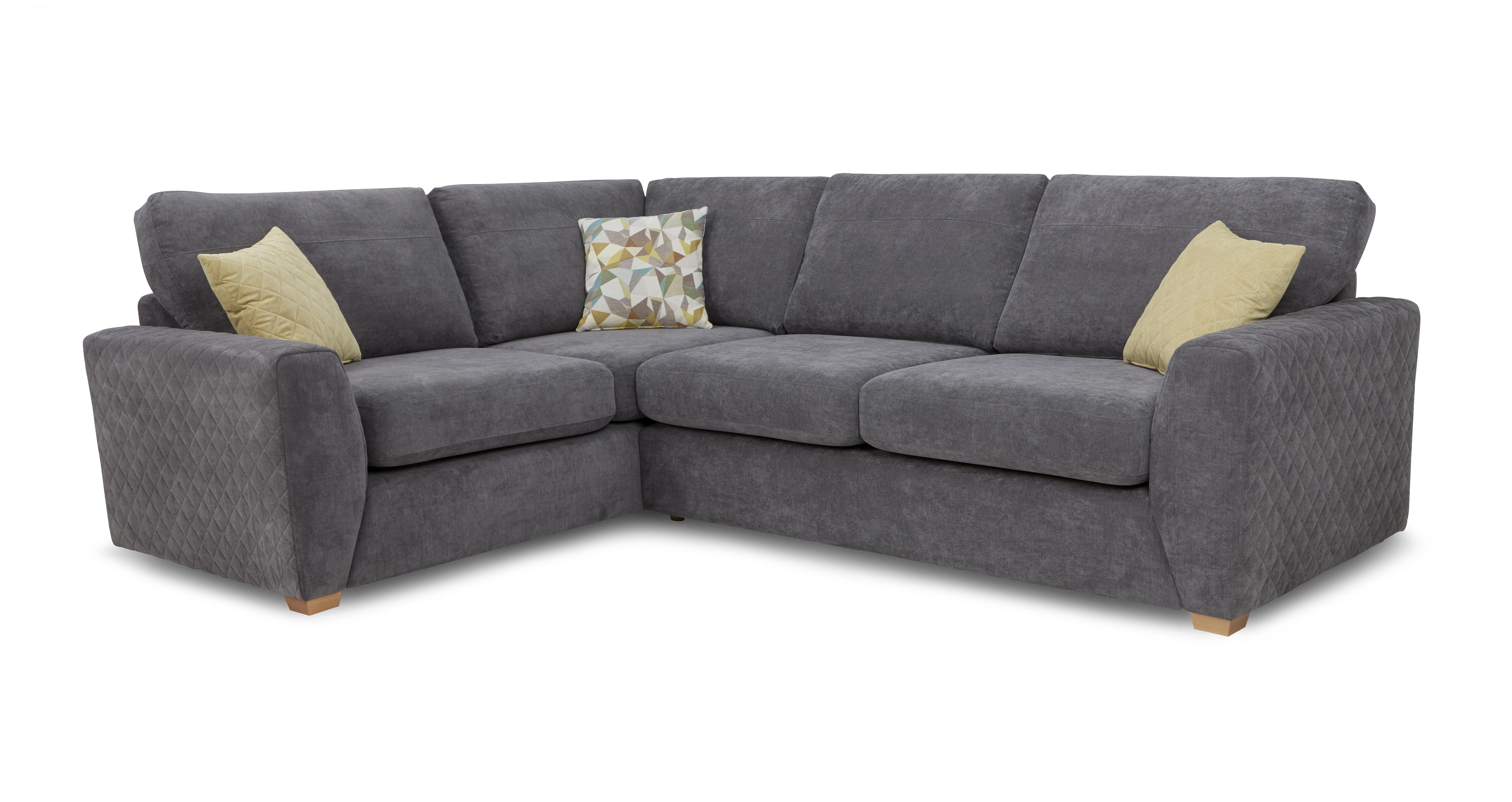 Astaire Right Hand Facing Arm Corner Deluxe Sofa Bed ...