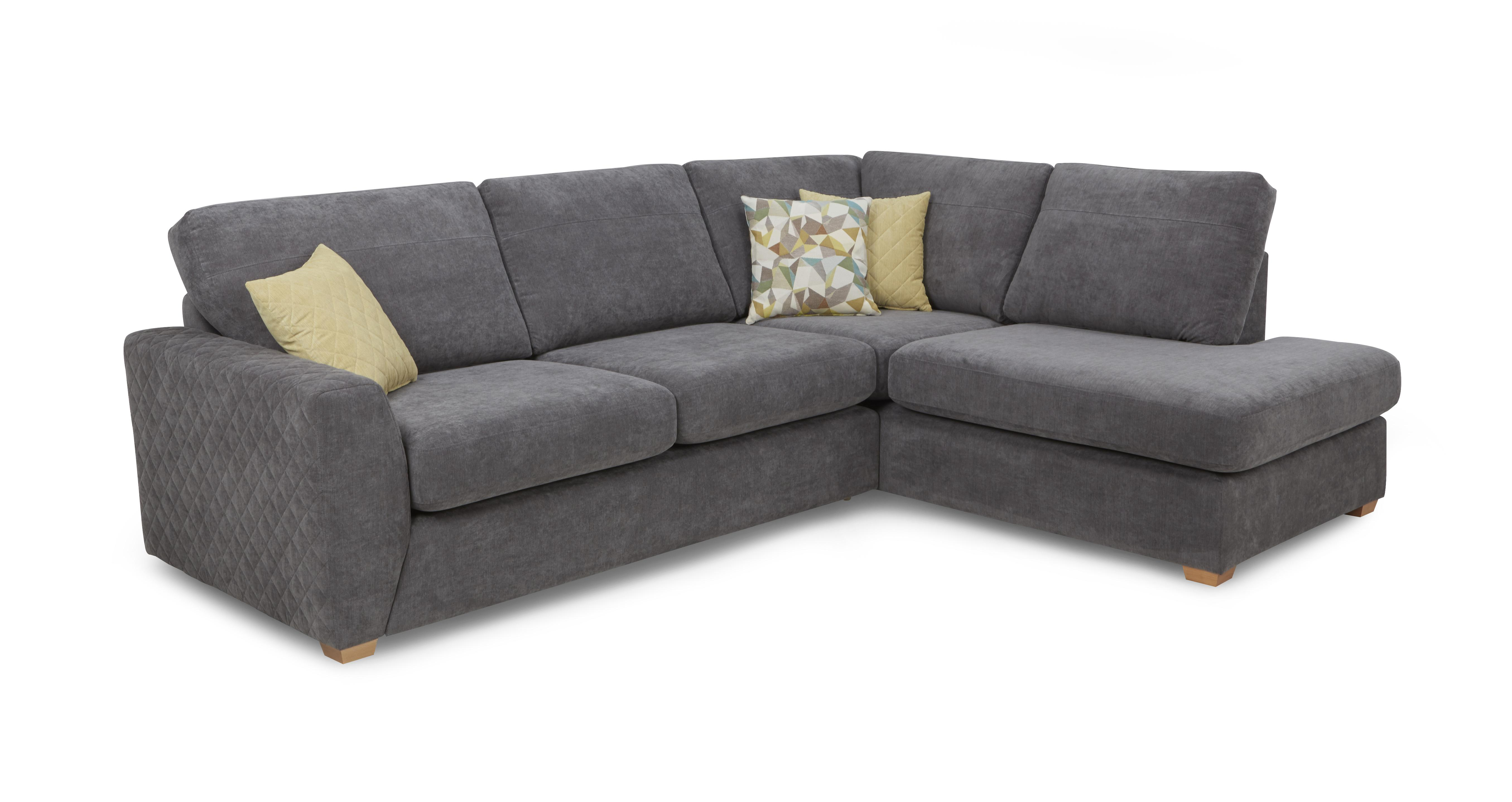 Astaire Left Hand Facing Arm Open End Corner Deluxe Sofa