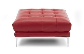 Large Square Footstool New Club