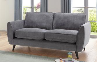Aurora 3 Seater Sofa Plaza