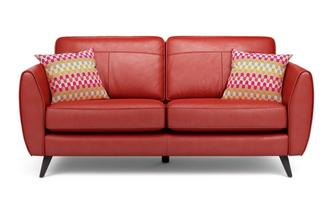 Leather Sofa Sales And Deals Reds And Purples Dfs