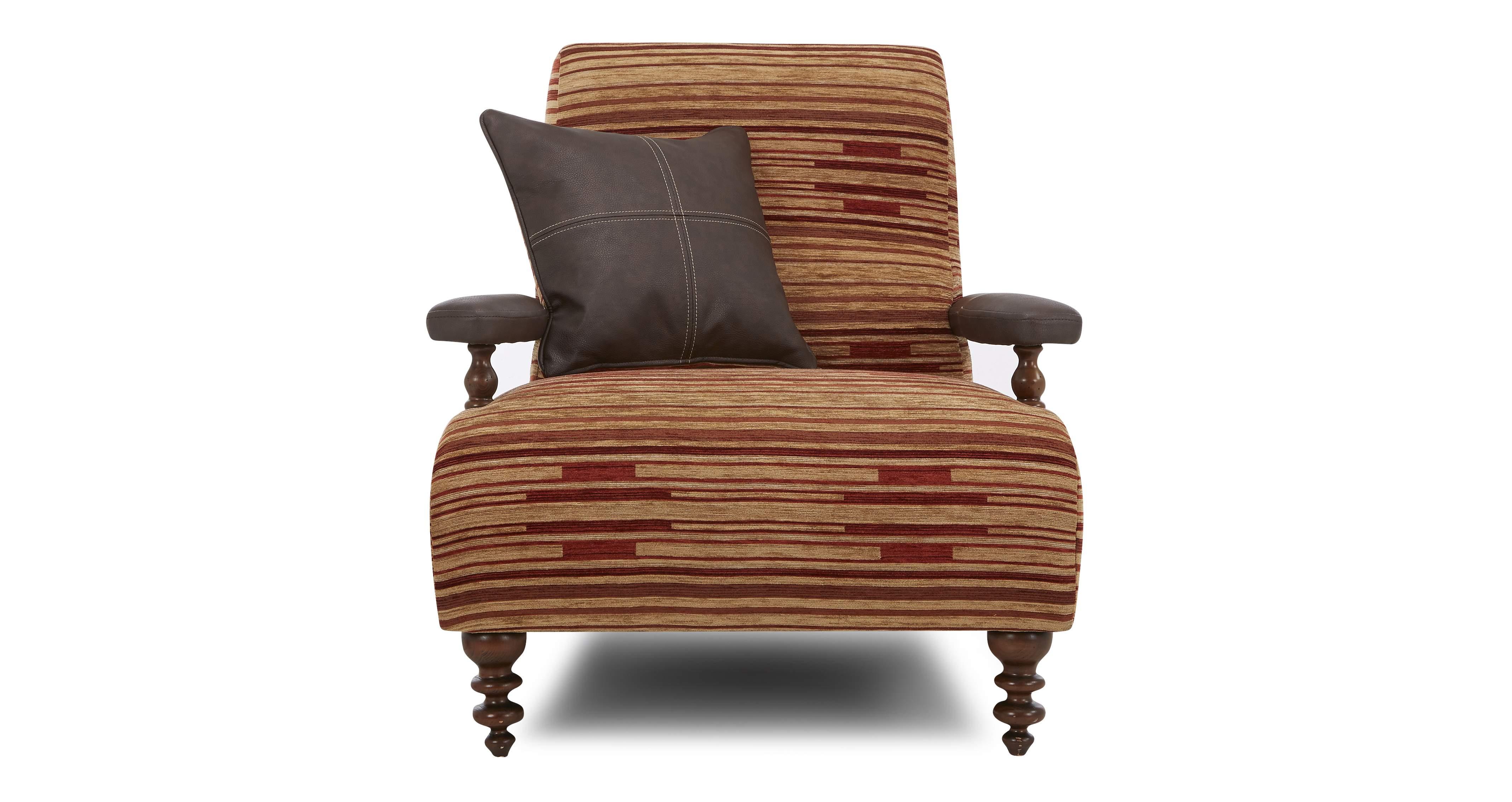 DFS Aztek Set Incl Terracotta Accent Chair and Storage