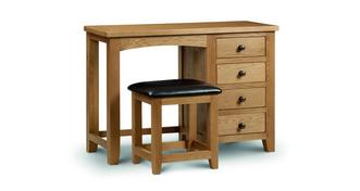 Barnhouse Single Pedestal Dressing Table