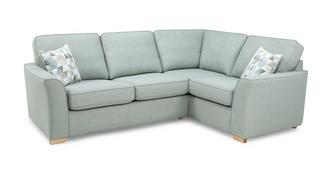 Beau Left Hand Facing 2 Seater Corner Sofabed