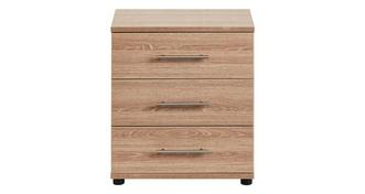 Belize 3 Drawer Wide Chest