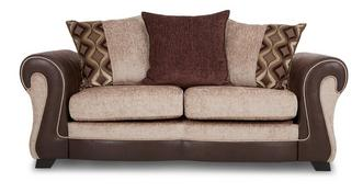 Belle Large 2 Seater Pillow Back Sofa