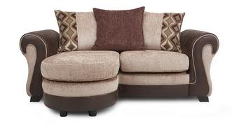 Belle 2 Seater Pillow Back Lounger