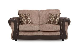 Small 2 Seater Formal Back Sofa Belle