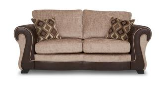 Belle Large 2 Seater Formal Back Deluxe Sofa Bed