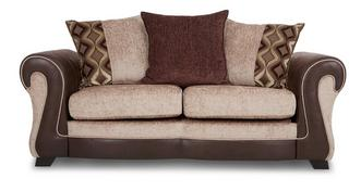 Belle Large 2 Seater Pillow Back Deluxe Sofa Bed