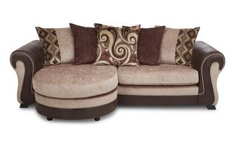4 Seater Pillow Back Lounger Belle