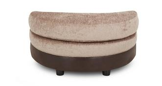 Belle Half Moon Footstool