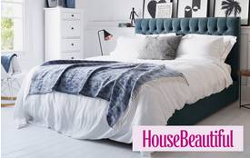 Benedict Double (4ft 6) Bedframe with Wings Benedict