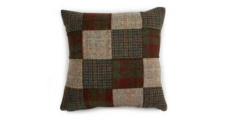 Berneray Bed Square Patchwork Scatter Cushion