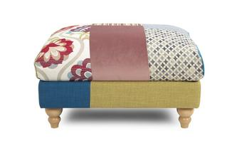 Patch Footstool