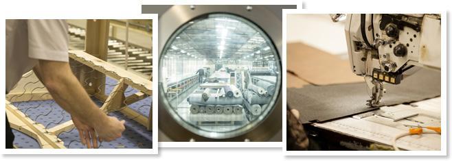 binnen in onze fabrieken