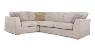 Blanche Right Hand Facing Deluxe Corner Sofa Bed