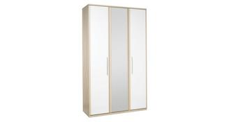 Blanco 3 Door Mirror Robe