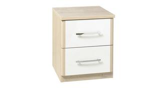 Blanco 2 Drawer Chest