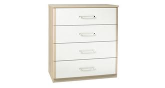 Blanco 4 Drawer Chest