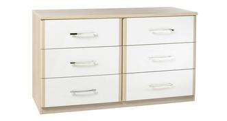 Blanco 6 Drawer Chest