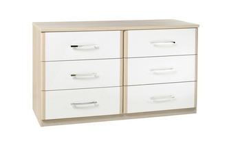 6 Drawer Chest Blanco