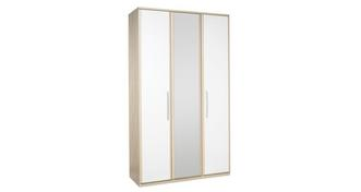 Blanco 3 Door Bi Fold Mirror Robe