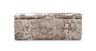 Bling Long Bench Stool Dfs