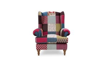 Wing Chair Blink Patch