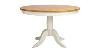 Bluebell Round Fixed Top Dining Table