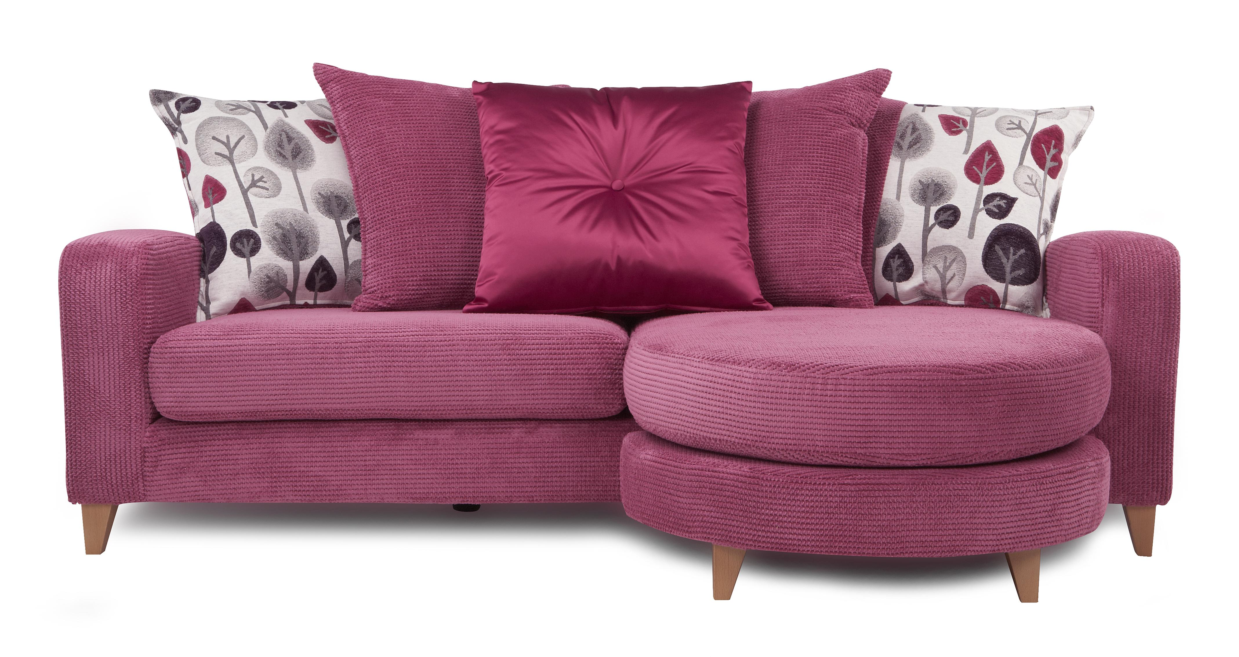 Dfs Blush Set Inc 4 Seater Lounger 2 Seater Sofa Bed