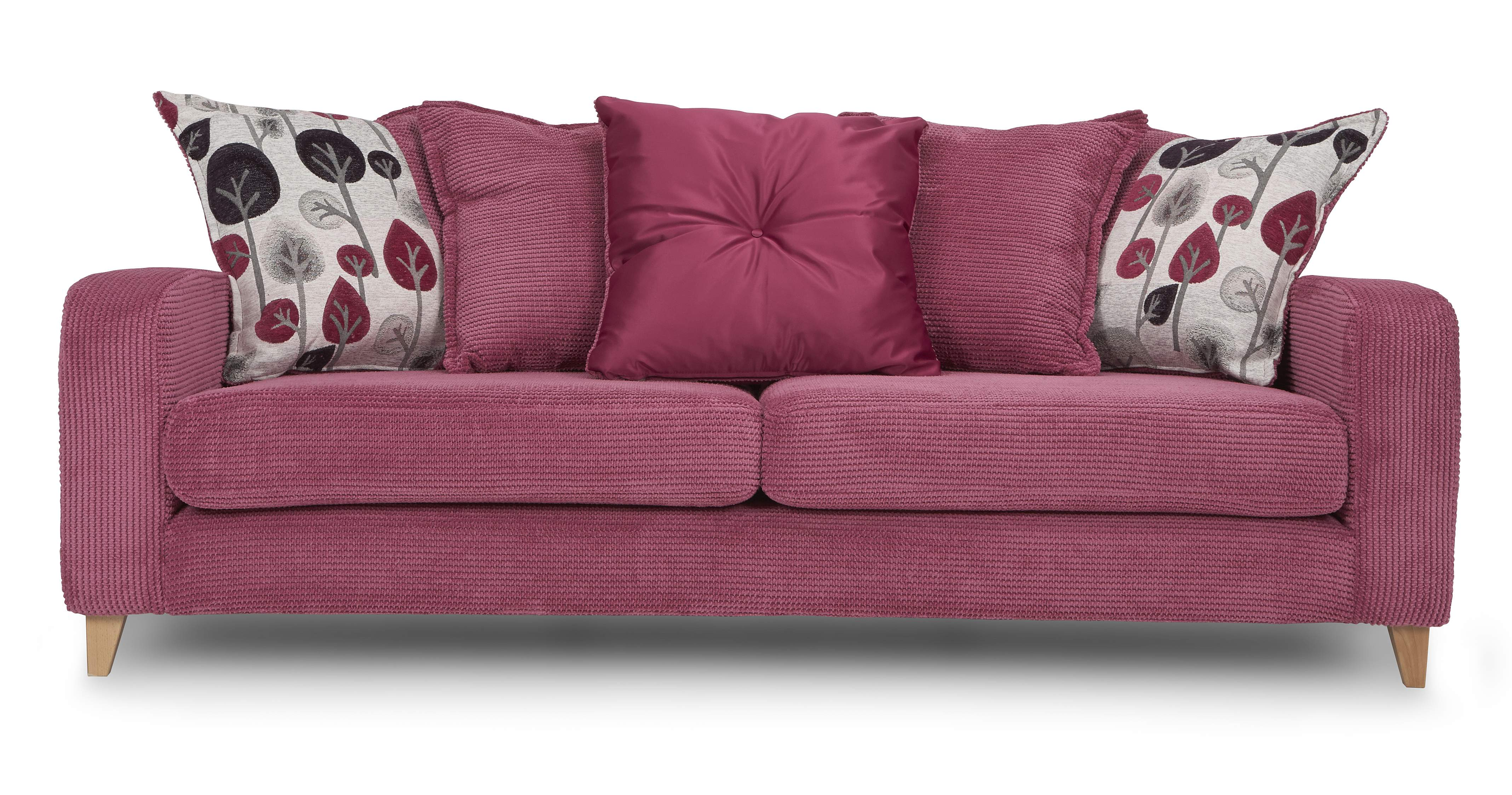 Dfs Blush Set Incl 4 Seater Pink Fabric Sofa 2 Seater