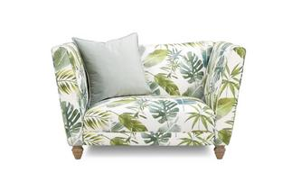 Pattern Cuddler Sofa