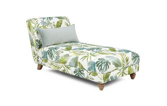 Pattern Chaise Longue Botanic Leaf