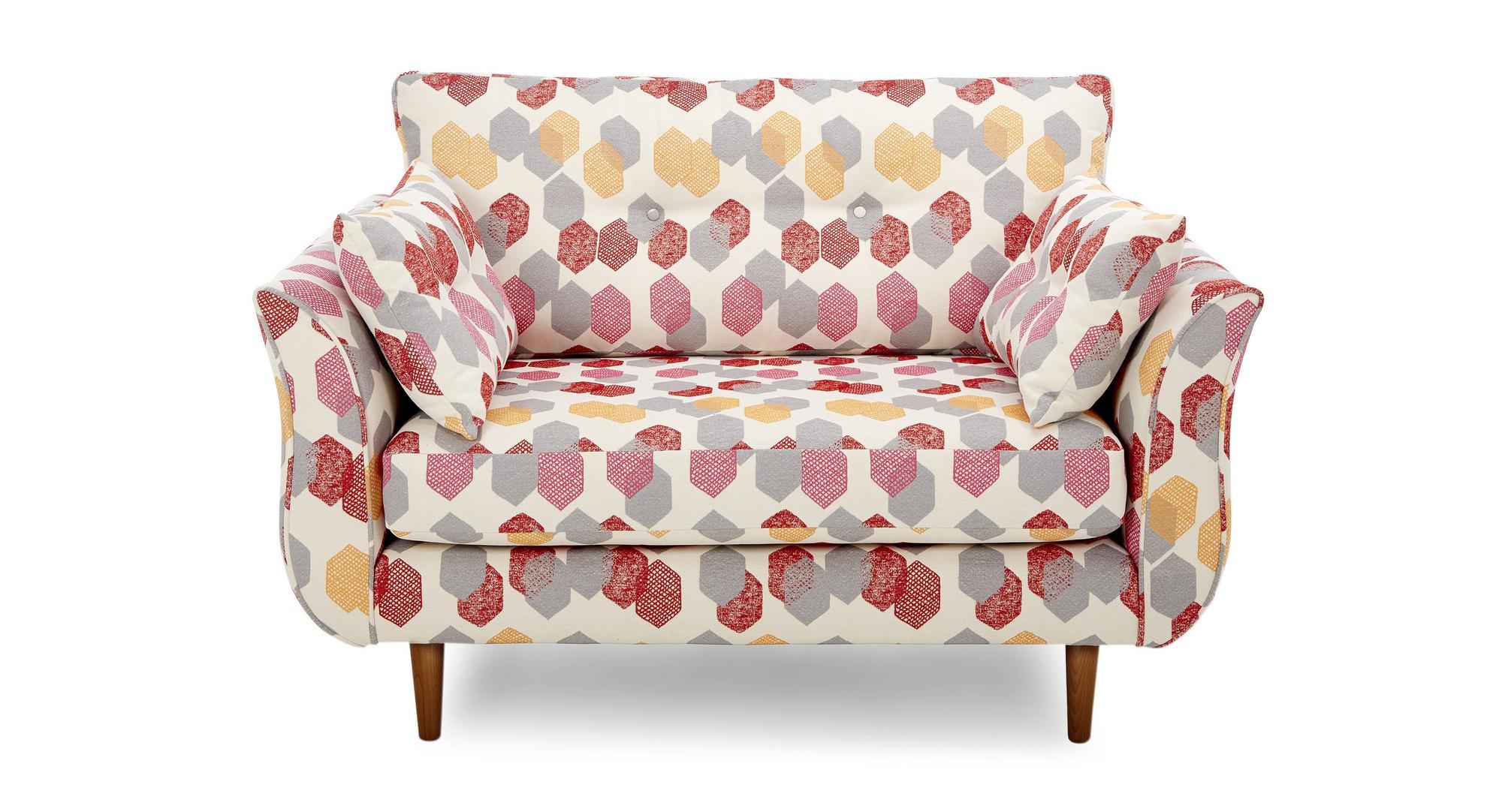 Dfs Bree Silver Fabric Sofa Set Inc 4 Seater Cuddler