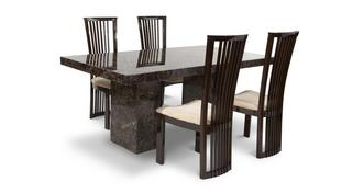 Brisbane Rectangular Table and 4 Salvadore Chairs