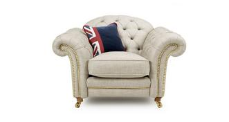 Britannia Armchair with Studs