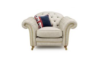 Armchair with Studs Britannia