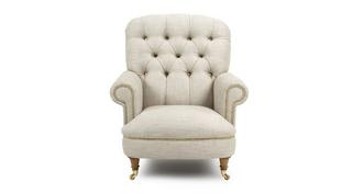 Britannia Accent Chair with Studs