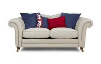2 Seater Sofa with Piping Britannia
