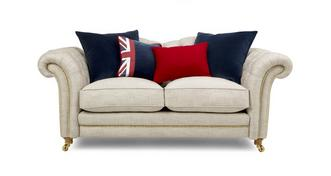 Britannia 2 Seater Sofa with Studs