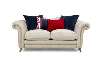 2 Seater Sofa with Studs Britannia